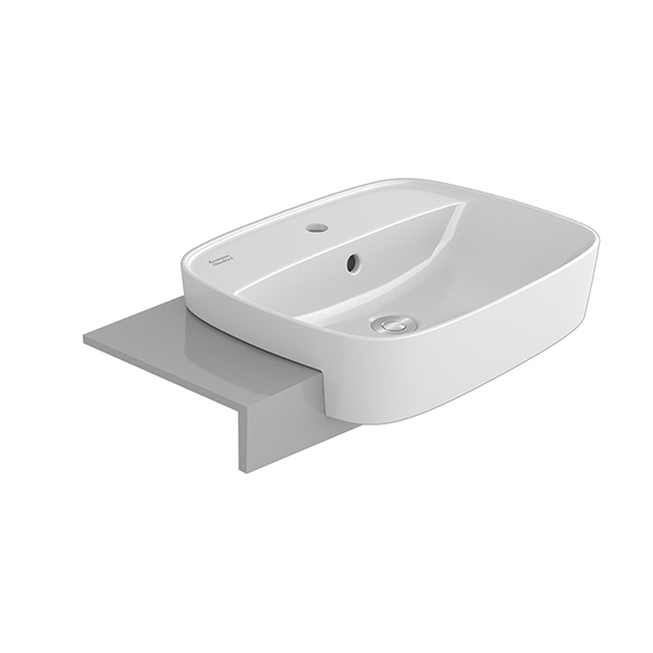 Signature 550mm semi-counter basin hole 8″