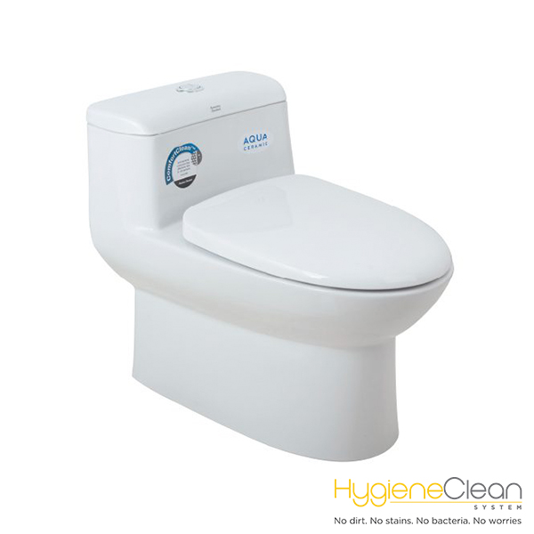 Milano 3.5/5lpf SiphonMAX Low Tank One Piece Toilet (305mm/400mm)