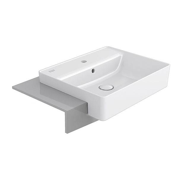 Acacia E SupaSleek Semi Counter Basin 550mm Single Hole