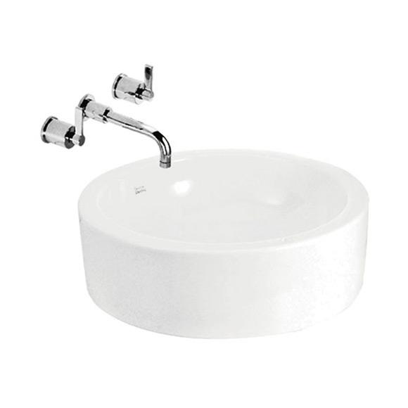 纯白 圆形碗盆400mm
