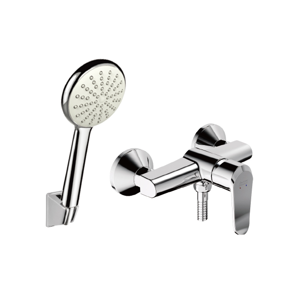 Neo Modern Exposed Bath & Shower Faucet